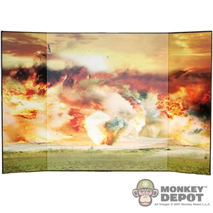 Display: DiD WWI Explosion (20.75in X 13.5in)