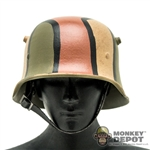 Helmet: DiD German WWI M-16 Camouflage Helmet