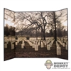 Display: DiD Arlington National Cemetery Backdrop