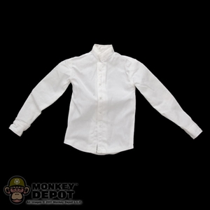 Shirt: DiD White Collarless