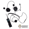 Radio: DiD S.W.A.T.-TAC III Single Communication Headset