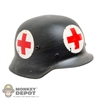 Helmet: DiD German WWII Medic Metal Helmet