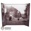 "Display: DiD Destroyed German Street (18.5"" X 13.5"")"