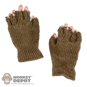 Gloves: DiD Fingerless Gloves w/Hands (no wrist pegs)