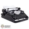 Tool: DiD WWII Continental Typewriter w/Moving Parts
