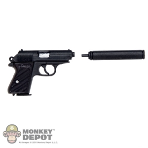Pistol: DiD PPK Pistol w/Silencer