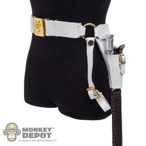 Belt: DiD Cavalry White Belt w/Bayonet