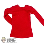 Shirt: DiD Female Red Long Sleeve Shirt