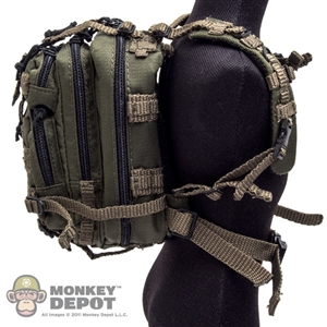 Pack: DiD OD Green Tactical Level III Assault Backpack