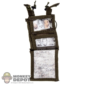 Pouch: DiD Ranger Green Tactical Arm Band ID Holder w/Papers