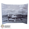 "Display: DiD Japanese WWII Plane (18.5"" X 13.5"")"
