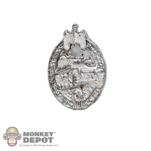 Medal: DiD German WWII Panzer Assault in Silver