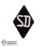 Insignia: DiD German WWII SD Sleeve Diamond