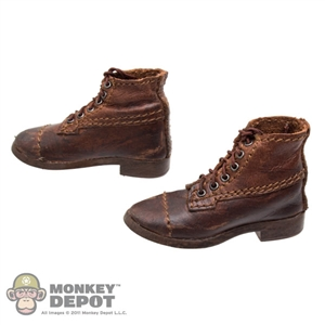 "Boots: DiD US WWI M1904 Russet ""Garrison"" Boots"