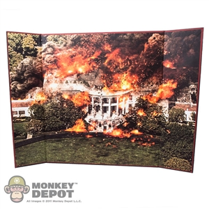 "Display: DiD The White House Backdrop (18.5"" X 13.5"")"