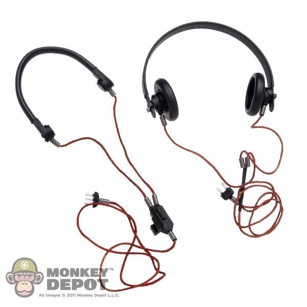 1//6 scale German Headset #2