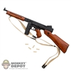 Rifle: DiD US WWII Thompson (Wood/Metal)