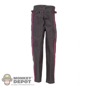 Pants: DiD WWII German Gray Pants w/Pink Piping