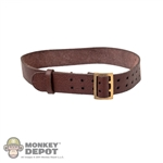 Belt: DiD German WWII Officer Brown
