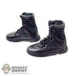 Boots: DiD Black Tactical Boots