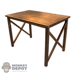 Table: DiD Brown Wooden Table