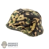 Cover: DiD German Spring Camo Helmet Cover (Helmet Not Included)