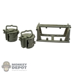 Ammo: DiD German WWII Basket Mag Carrier w/2 Mag Drums