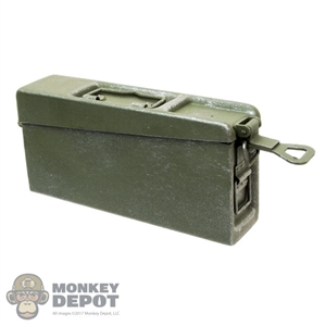 Ammo: DiD German WWII MG34 Ammo Can (Metal)
