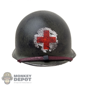 Helmet: DiD M1 Medic Helmet (Weathered) (Metal)