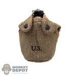 Canteen: DiD WWII US Canteen w/Cover (Weathered)