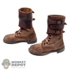 Boots: DiD WWII US M43 Boots w/Feet (Weathered)