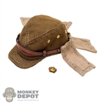 Hat: DiD Japanese Army Field Cap w/Neck Flap