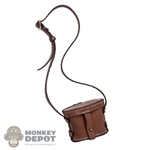 Case: DiD Japanese Brown Leather Binoculars Case