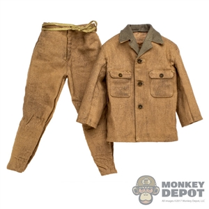 Uniform: DiD Japanese Army Tropics 2/3 Sleeves Shirt w/Pants (Weathered)
