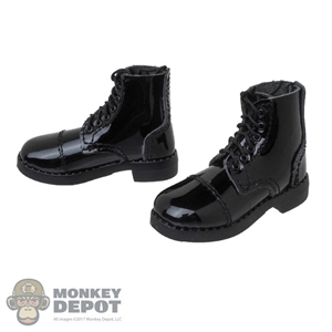 Boots: DiD Mens Black Guard Boots