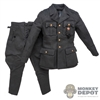 Uniform: DiD German Single Breasted Tunic w/Pants (Dark Grey)