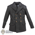 Coat: DiD German Double Breasted Tunic (Dark Grey)