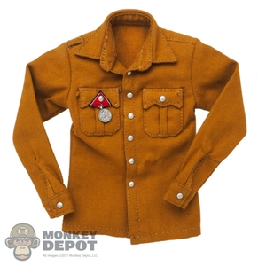 Shirt: DiD Brown Hitler Dress Shirt w/Medal