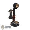 Phone: DiD Vintage Candlestick Rotary Phone