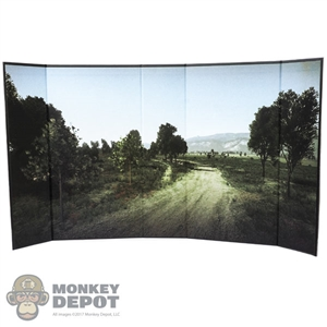 "Display: DiD The Countryside (24.5"" x 13.5"") (READ NOTES)"