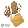 Pack: DiD WWII British Parachute w/Canopy + Reserve