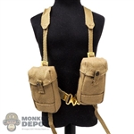 Harness: DiD British WWII P37 Pattern Webbing w/Pouches