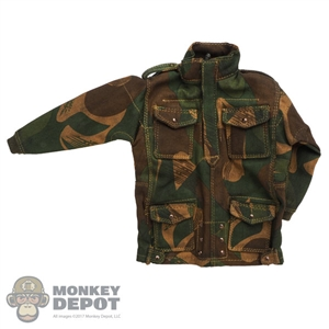 Smock: DiD Mens British WWII Denison Smock (Zipper Semi Open)