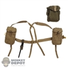 Harness: DiD Weathered British WWII P37 Pattern Webbing w/Pouches