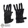 Gloves: DiD Mens Black Dress Gloves