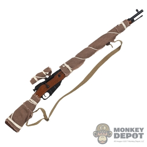 Rifle: DiD Russian WWII Mosin Nagant M1891/30 w/Burlap Wrap (Metal + Wood)
