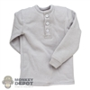 Shirt: DiD Mens Long Sleeve Shirt (Light Grey)