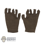 Gloves: DiD Mens Green Fingerless Gloves