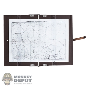 Map: DiD German Metal Foldable Clipboard w/Map