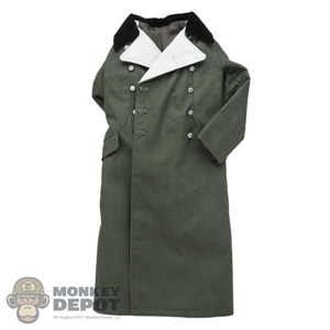 Coat: DiD German WWII Green Greatcoat